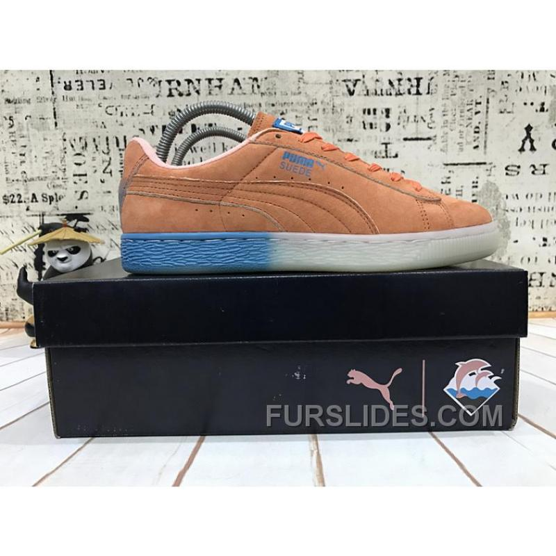 the best attitude 50042 dcc6a Puma X Pink Dolphin Suede Capsule Collection Women Men For Sale 6HEEK