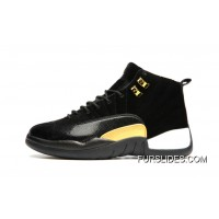 JORDAN 12A J12 36---40 Black Yellow 2017 Women Top Deals