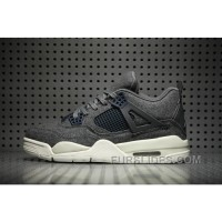 Air Jordan 4 Wool Dark Grey Discount