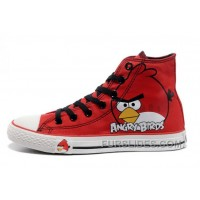 All Star CONVERSE Angry Birds Red High Ps Chuck Taylor Sneaker Cheap To Buy