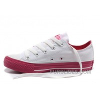 Dazzle Colour CONVERSE All Star Light White Red Tops Casual Canvas Sneakers Online