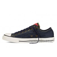 CONVERSE Chuck Taylor All Star Dark Denim Casual Low Discount