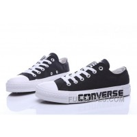 Black CONVERSE Chuck Taylor All Star Canvas Shoes New Release