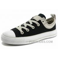 CONVERSE Chuck Taylor Black Performers Casual Style Easy Slip All Star Top Canvas Suede Sneakers Lastest