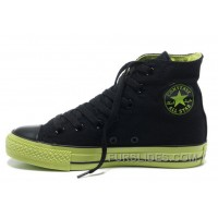 Dazzle Black Green Colour CONVERSE All Star Light High S Casual Canvas Sneakers Top Deals