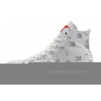 CONVERSE High S CT OX 100 Club White Cloud Canvas Trainers Top Deals