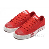 Red CONVERSE Tops Lightning Chuck Taylor All Star Canvas Shoes Free Shipping