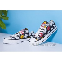 Black CONVERSE X The Simpsons Chuck Taylor All Star Free Shipping