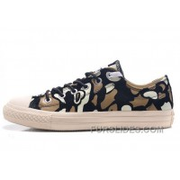 CONVERSE Camouflage Suede Chuck Taylor All Star Sneakers Black White Brown Super Deals
