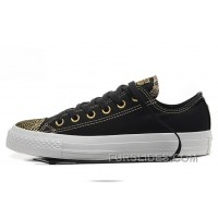 Retro Bling CONVERSE Golden Shining Metallic Chuck Taylor All Star Low Lastest