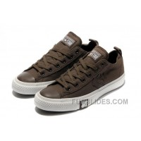 Brown CONVERSE All Star Chocolate Simple Slip S Canvas Shoes Top Deals