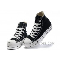 Black Platform CONVERSE All Star Canvas Women Shoes Classic Lastest 237777