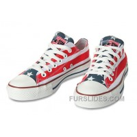 All Star CONVERSE American Flag By John Varvatos Canvas Sneaker Discount