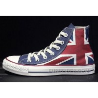 CONVERSE British Flag Rock Union Jack Red Blue Chuck Taylor All Star Canvas Sneakers Online