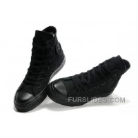 Black CONVERSE All Star Monochromatic Canvas Sneakers Lastest