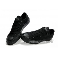 Black CONVERSE All Star Monochromatic Canvas Sneakers Cheap To Buy