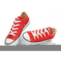 Red CONVERSE All Star Chuck Taylor Canvas Shoes New Release