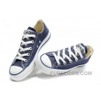 Blue CONVERSE Chuck Taylor All Star Canvas Shoes New Release