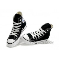 Black CONVERSE High Tops Chuck Taylor All Star Canvas Shoes Authentic