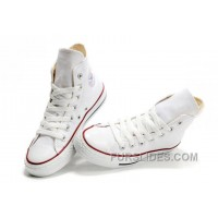 CONVERSE High Top Chuck Taylor All Star Optical White Canvas Shoes Lastest