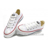 CONVERSE Chuck Taylor All Star Top Optical White Canvas Shoes Discount