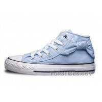 CONVERSE Hello Kitty Bow Tie Side Blue Chuck Taylor All Star Free Shipping