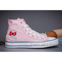Pink Hello Kitty X CONVERSE Chuck Taylor All Star For Sale
