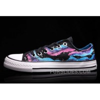 CONVERSE Iridescent Galaxy Multi Colored Women Chuck Taylor All Star Shoes Super Deals