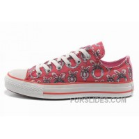 Double Tongue Pink CONVERSE Women Dr Suess Cindy Lou Who Canvas Top Deals
