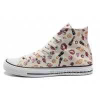 New Chuck Taylor All Star Coco CONVERSE White Womens Lipstick Lips Print Canvas Free Shipping