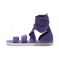 CONVERSE Chuck Taylor All Star Violet Gore Purple Roman Sandals Lastest