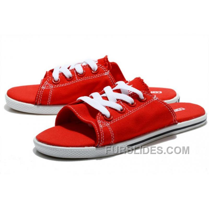 1da9112e40ad ... All Red All Star CONVERSE Cutaway EVO Chuck Taylor Slippers Top Deals  ...