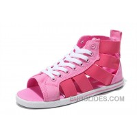 CONVERSE Open Toe Gore Pink All Star Roman Summer Sandals Authentic
