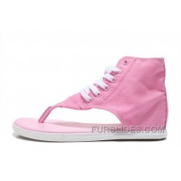 CONVERSE New Age Chuck Taylor All Star Pink Roman Sandals Flip Flops Free Shipping