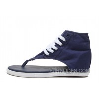 Blue New Age CONVERSE Chuck Taylor All Star Flip Flops Roman Sandals Discount