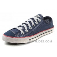 Blue CONVERSE Chuckout Summer Collection Mesh Style Tops Casual Shoes Discount