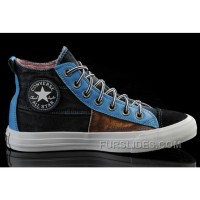 The Avengers Iron Man CONVERSE All Star High Tops Black Brown Blue Tonal Stitching Canvas Shoes Discount