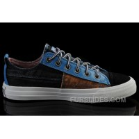 Iron Man CONVERSE Avengers Black Brown Blue Tonal Stitching Canvas Sneakers Top Deals