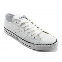 White Leather CONVERSE By John Varvatos Double Zipper Oxford Winter Chuck Taylor All Star Tops Sneakers Free Shipping