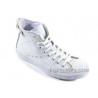 White Leather CONVERSE Double Zipper John Varvatos Oxford Winter Chuck Taylor All Star High S Sneakers Top Deals