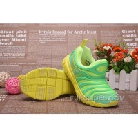 Nike Dynamo Free Kids Green 343738--306 Authentic