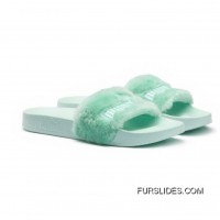 Fur Mens Slide Sandals Bay-Puma Silver New Release