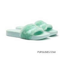 Fur Womens Slide Sandals Bay-Puma Silver Copuon Code