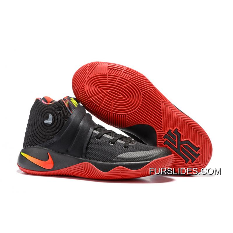 """c54ccec3d47 Girls Nike Kyrie 2 """"Dream"""" Black Red For Sale"""