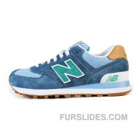 2016 New Balance 574 Men Light Sky Blue Super Deals