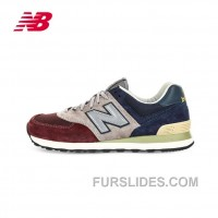 New Balance 574 2016 Men Dark Blue Grey Red Super Deals
