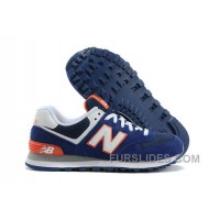 New Balance 574 2016 Men Dark Blue Authentic