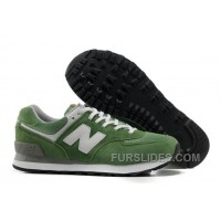 New Balance 574 2016 Men Green Lastest