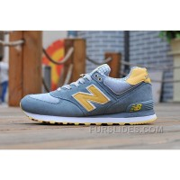 New Balance 574 2016 Men Light Sky Blue Cheap To Buy