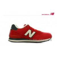 New Balance 574 2016 Men Red Top Deals 210971